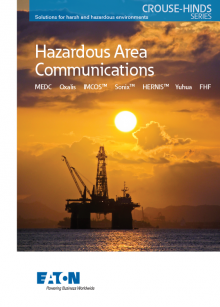 Hazardous Area Communication tri-fold – English