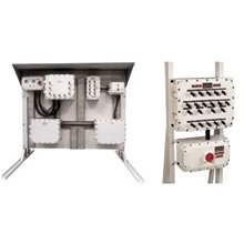 Explosionproof control panels and distribution Boards for hazardous areas