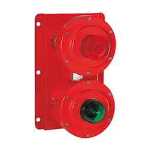 Explosionproof status light for hazardous areas / harsh industrial / marine